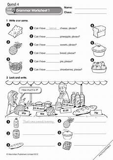grammar worksheets macmillan 24873 1 write a or some grammar worksheet 1 name class 169 macmillan publishers limited 2012 ph o to