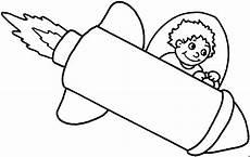 Malvorlage Rakete Einfach Junge In Rakete Ausmalbild Malvorlage Kinder