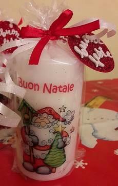 candele decorate per natale candele natalizie decorate a mano feste natale di