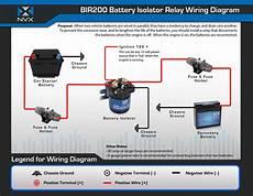 nvx bir200 200 relay isolator bir200
