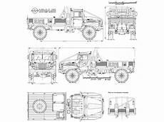 fahrzeug mit planen ural 4320 blueprint free blueprint for 3d modeling