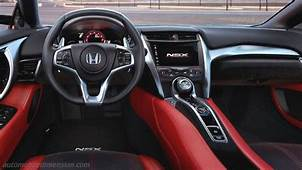 Honda NSX 2017 Dimensions Boot Space And Interior
