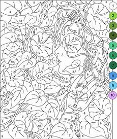 free color by number worksheets for adults 16289 s free coloring pages color by number