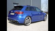 new audi rs3 8v 2016 exhaust sound rs exhault system mods