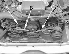 electronic stability control 1996 mazda protege spare parts catalogs service manual remove a tensioner for a 1996 mazda protege mazda 6 i4 automatic drive belt