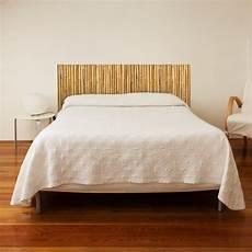 stickers muraux sticker t 234 te de lit canisse bambou