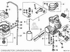 honda xr600r 1989 k belgium parts lists and schematics