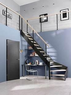 escalier 2 quart tournant lapeyre escalier en metal lapeyre pallier quart tournant