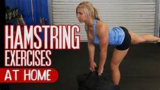 5 best hamstring exercises to do at home youtube