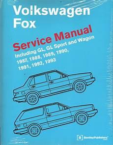 repair anti lock braking 1993 volkswagen fox user handbook 1997 1993 volkswagen fox bentley factory service repair manual