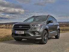 ford kuga länge ford kuga 2 0 tdci 150 ps at awd st line testbericht