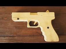 How To Make Easy Glock 17 Rubber Band Gun Tutorial