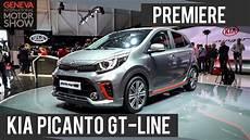 Kia Picanto Gt Line 2017 Premiere Genfer Autosalon