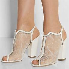 Bridal Shoes Chunky Heel