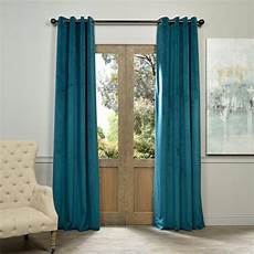 Teal Drapes Curtains exclusive fabrics furnishings blackout signature