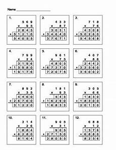 multiplication worksheets x2 4678 3 x 2 digit multiplication fill in the blanks by aric tpt