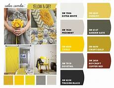 gray and mustard paint colors from chip it by sherwin williams color inspiration paint