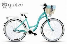 Fahrrad Mit Korb - damenfahrrad mit korb citybike retro goetze style 28 zoll