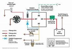 12v computer fan wire diagram 5 pin 30 relay wiring diagram best of 12v deltagenerali me electric radiator fan