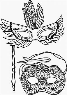 Ausmalbilder Karneval Masken Karnevalstanzpaar Als Malvorlage Coloring And Malvorlagan