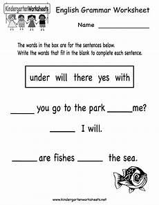 basic grammar worksheets for high school 25076 kindergarten grammar worksheet printable school stuff grammar