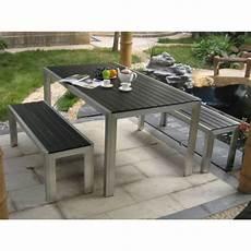 table et banc en bois pour exterieur table en bois avec banc exterieur menuiserie