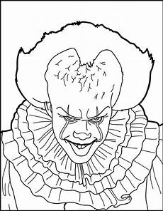 Clown Malvorlagen Ausdrucken Free Malvorlage Horror Clown Coloring And Malvorlagan