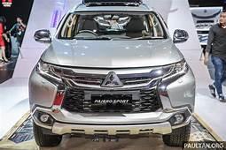 IIMS 2017 Mitsubishi Pajero Sport Now CKD Indonesia Paul