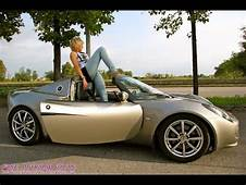 Fast Driving Girls  Paris Barefoot Lotus Elise