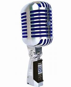 Shure 55 Deluxe Vocal Microphone Chrome U S