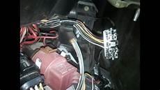 heater resistor electric connector repair step by step
