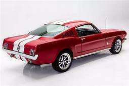 1965 Ford Mustang Fastback AC Shelby Stripes