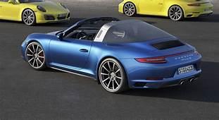 2017 Porsche 911 Carrera 4 And Targa Models Make Debut