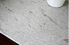 our beautiful river white granite countertops from