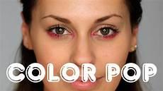 wie schminke ich roten lidschatten trend makeup
