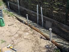 Gewächshaus Fundament Bauen - teil 2 das streifenfundament f 252 r das gew 228 chshaus entsteht