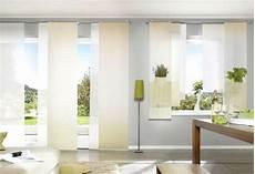 Schlafzimmer Gardinen Kurz - 1 st schiebegardine 43 x 180 natur uni blickdicht horn