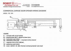 Commercial Garage Door Opener Model Gd 03h Robot Electronics