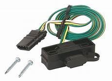 hopkins towing solution 4 way flat mounting bracket trailer wire connector xj ebay