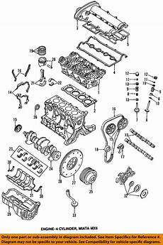 99 miata engine diagram mazda oem 94 97 miata valve cover gasket bp0510235c ebay