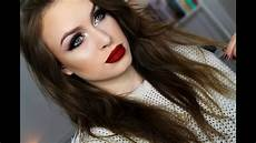 my go to easy glam look winter makeup