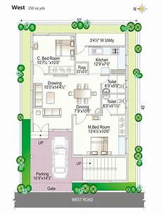 vastu plans for west facing house image result for house plan 36 215 50 west facing g 1 plan