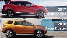 2017 Renault Kadjar Vs 2018 Dacia Duster Technical