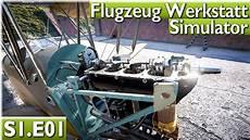 Flugzeug Werkstatt Simulator Wie Tankt Auf Plane