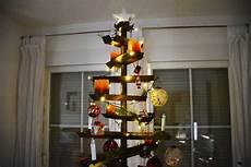 weihnachtsbaum aus metallleisten 170 cm doppelseitig