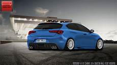 tuning 105 alfa romeo giulietta photoshop hd