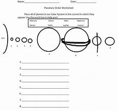 solar system planets for worksheet worksheets way out there