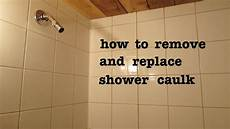 silikon entfernen dusche how to remove shower silicone caulk and apply new and