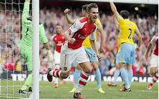 arsenal 2 crystal palace 1 aaron ramsey scores late winner to open premier league caign with