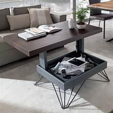 table basse transformable radius table transformable et relevable en deux